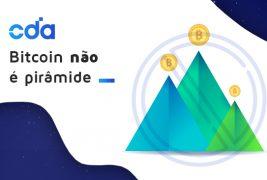 Bitcoin não é pirâmide