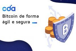 Bitcoin de forma ágil e segura!