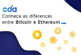 Conheça as diferenças entre Bitcoin e Ethereum